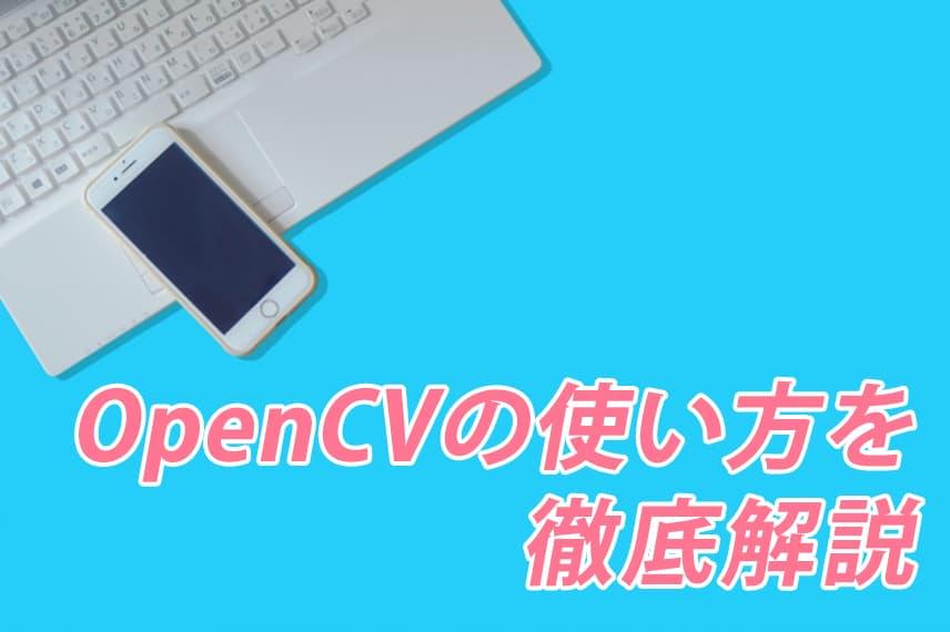 OpenCVの使い方を徹底解説